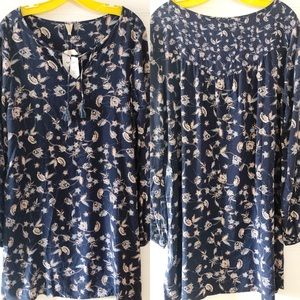 NWT Roxy View Delights Floral Dress